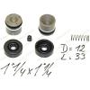 CK21125452204, CK21125252002 Ремкомплект рабочего тормозного цилиндра полный погрузчика TCM